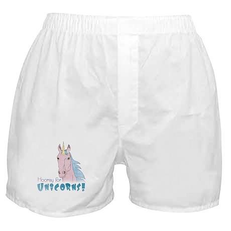 Hooray for Unicorns Boxer Shorts