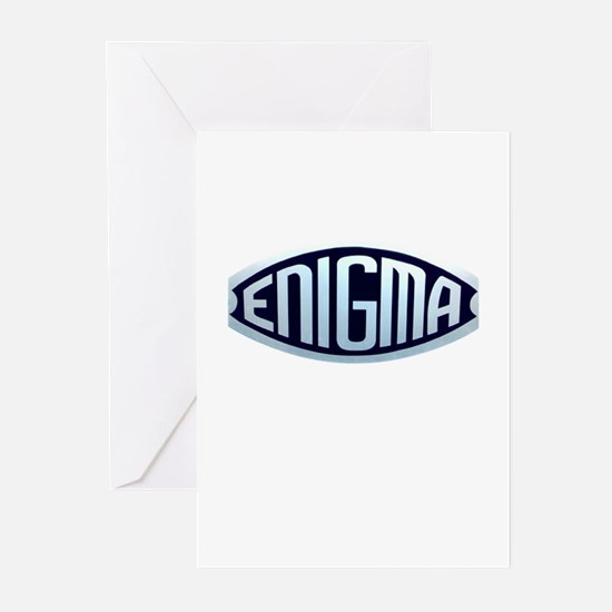 enigma.png Greeting Cards (Pk of 20)