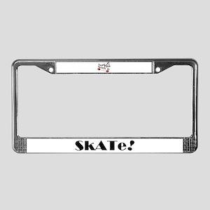 SKATER License Plate Frame