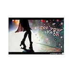 GET YOUR SKATE ON Rectangle Magnet (10 pack)