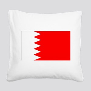 Bahrain Square Canvas Pillow