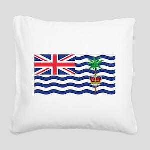 British Indian Ocean Territory Square Canvas P