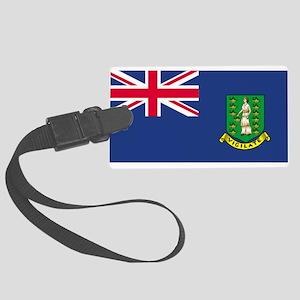 British Virgin Islands Large Luggage Tag