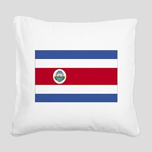 Costa Rica Square Canvas Pillow