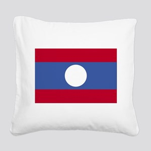 Laos Square Canvas Pillow