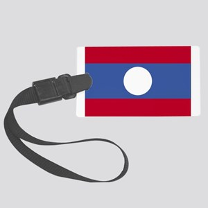 Laos Large Luggage Tag