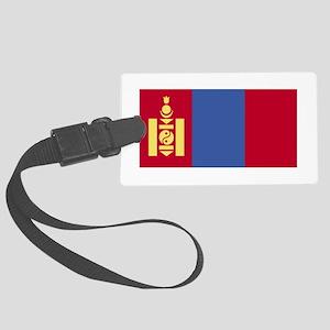 Mongolia Large Luggage Tag