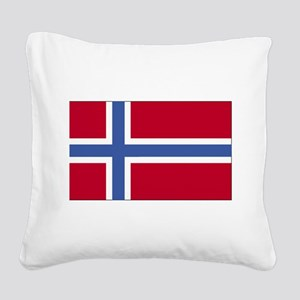 Norway Square Canvas Pillow