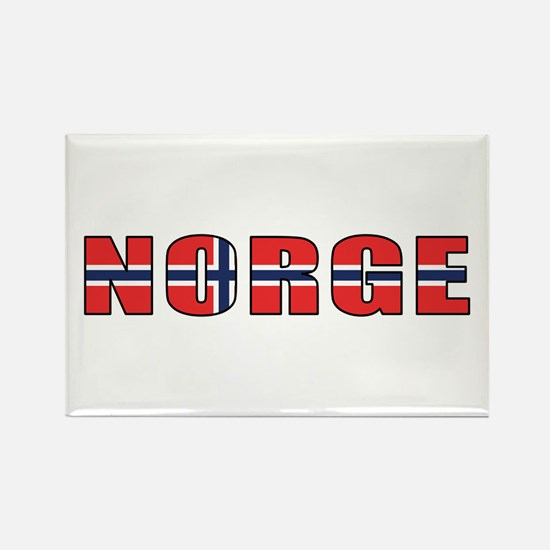 Norway Rectangle Magnet (100 pack)