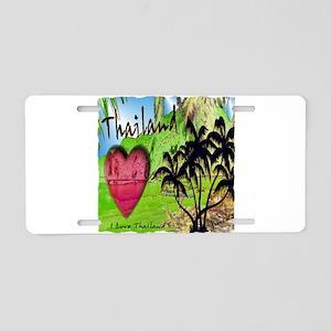 thailand art illustration Aluminum License Plate