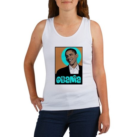 Obama and Peace Women's Tank Top