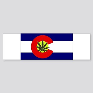 Colorado Marijuana Sticker (Bumper)