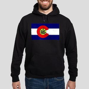 Colorado Marijuana Hoodie (dark)