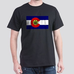 Colorado Marijuana Dark T-Shirt