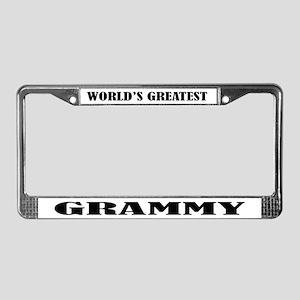 Grammy License Plate Frame