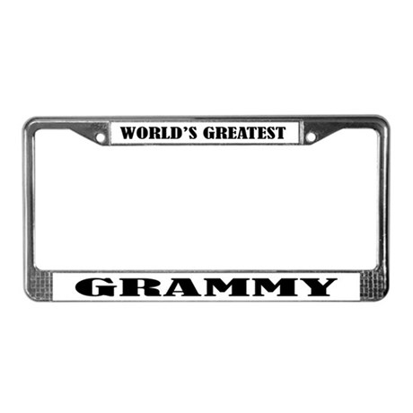Grammy License Plate Frame by funlicenseframe