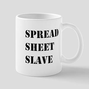 Spreadsheet Slave Spreadsheets User Mug