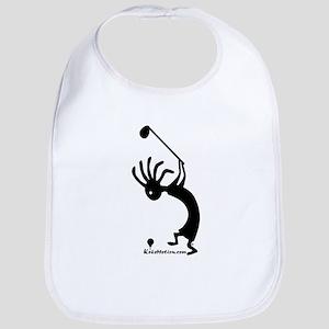 Kokopelli Golfer Bib