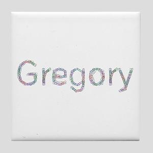Gregory Paper Clips Tile Coaster