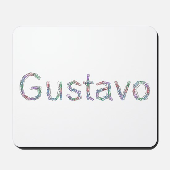 Gustavo Paper Clips Mousepad