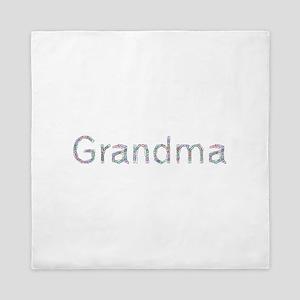 Grandma Paper Clips Queen Duvet