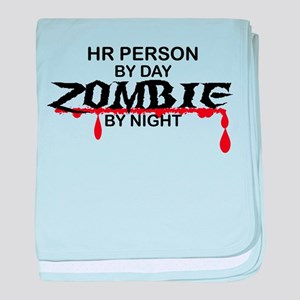 HR Person Zombie baby blanket