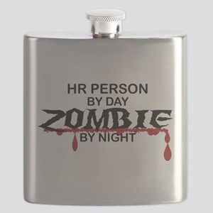 HR Person Zombie Flask