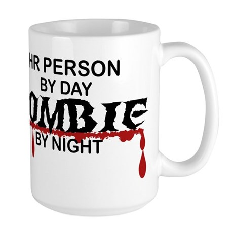 HR Person Zombie Large Mug