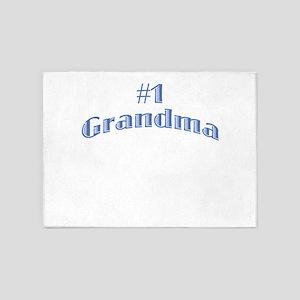 #1 Grandma 5'x7'Area Rug