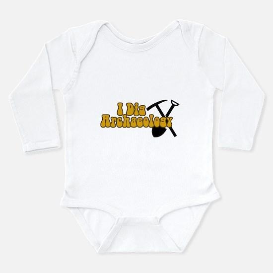 Archaeology Long Sleeve Infant Bodysuit