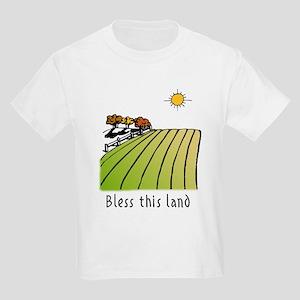 Bless this land Kids T-Shirt