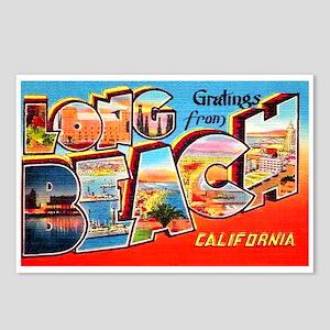 Long Beach California Greetings Postcards (Package