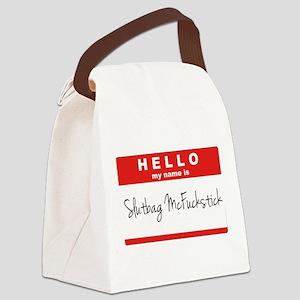 Slutbag Canvas Lunch Bag