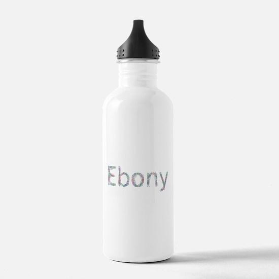 Ebony Paper Clips Water Bottle