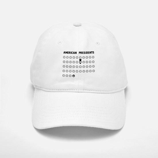 American presidents Baseball Baseball Cap
