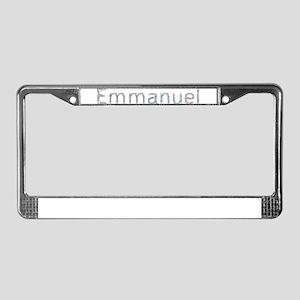 Emmanuel Paper Clips License Plate Frame