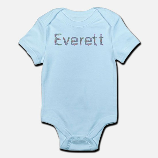 Everett Paper Clips Infant Bodysuit