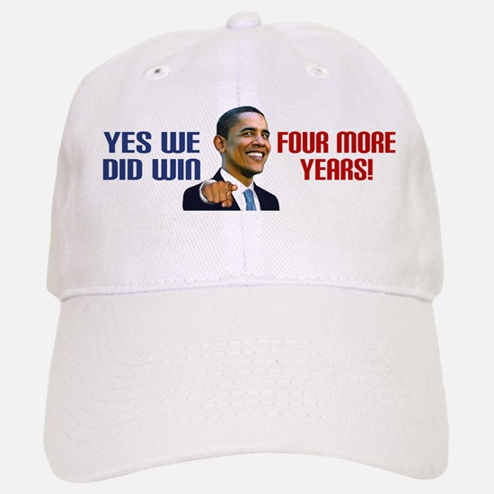 Yes We Did! Baseball Baseball Cap