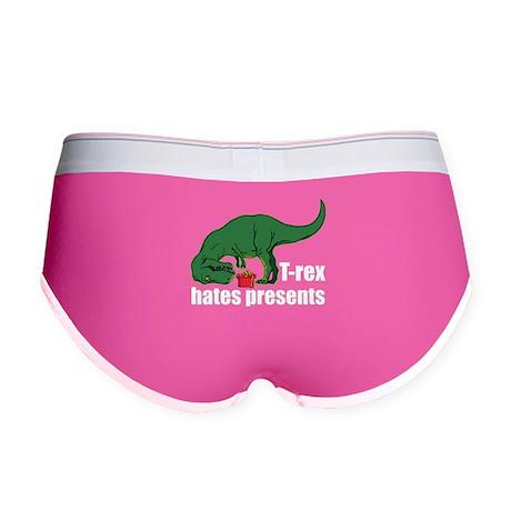 T-rex hates presents Women's Boy Brief