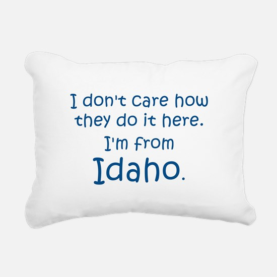 From Idaho Rectangular Canvas Pillow