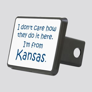 From Kansas Rectangular Hitch Cover