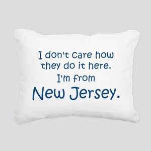 From New Jersey Rectangular Canvas Pillow