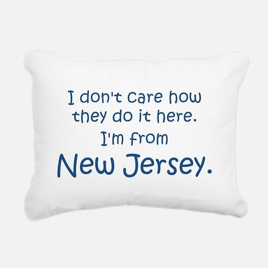 From New Jersey Rectangular Canvas Pillow