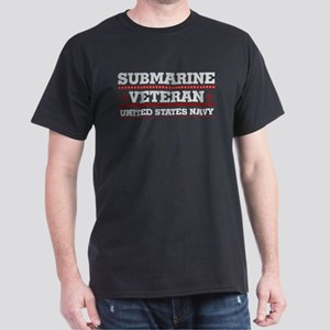 Submarine Veteran: United States Navy Dark T-Shirt