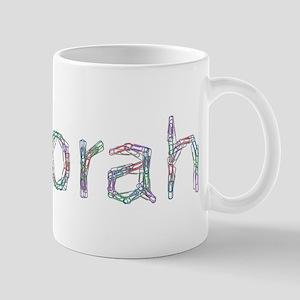 Deborah Paper Clips Mug