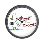 What the Duck Wall Clock