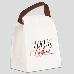 Natural Redhead Canvas Lunch Bag