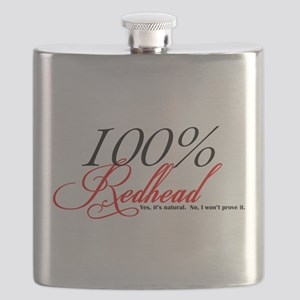 Natural Redhead Flask