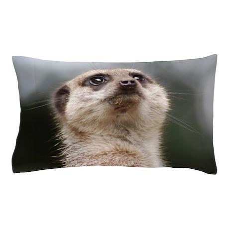 Alert Meerkat Pillow Case