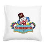 Proud Shrine Clown Square Canvas Pillow
